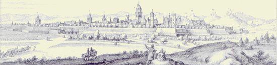 Gießen historisch - Stich
