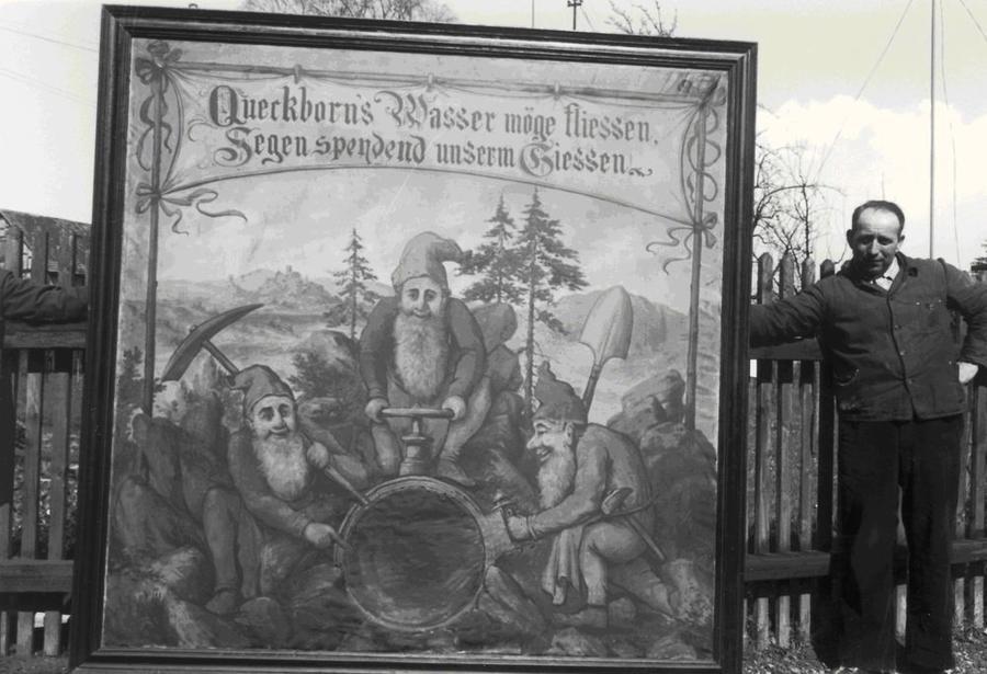 Frischwasserquelle in Queckborn