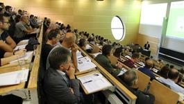 Voll besetzt: Das Gießener Bauforum informierte Praktiker über neue Forschungsergebnisse