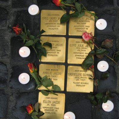 Stolpersteine Jacob