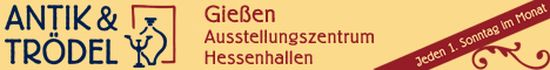 Externer Link: Antik & Trödelmarkt Hessenhallen - Logo
