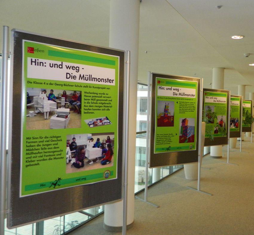 Bild Ausstellung Müllmonster