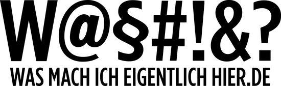 Externer Link: Logo wasmachicheigentlichhier.de