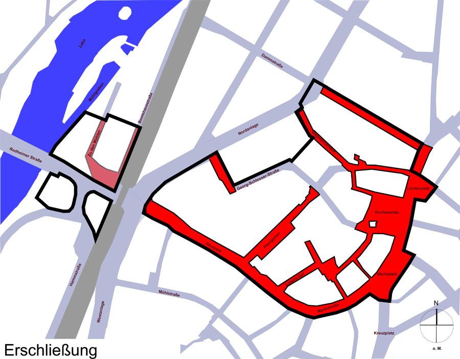 Sanierung Burggraben_Erschließungsmaßnahmen