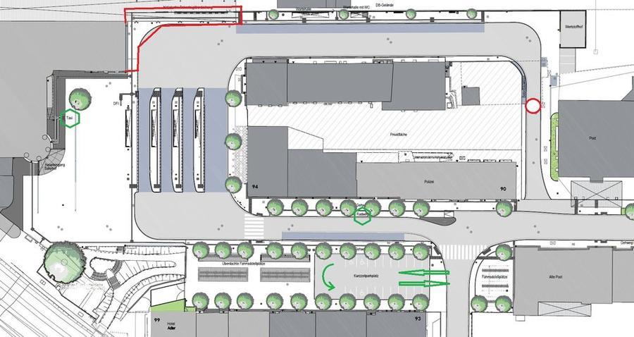 Bahnhofsvorplatz-Plan