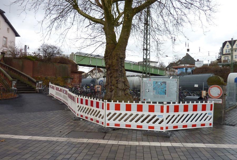Fahrradständer Bahnhofsvorplatz