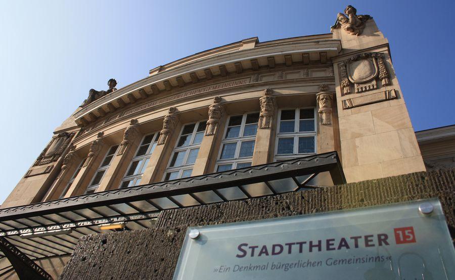 Stadttheater Gießen - Außenansicht