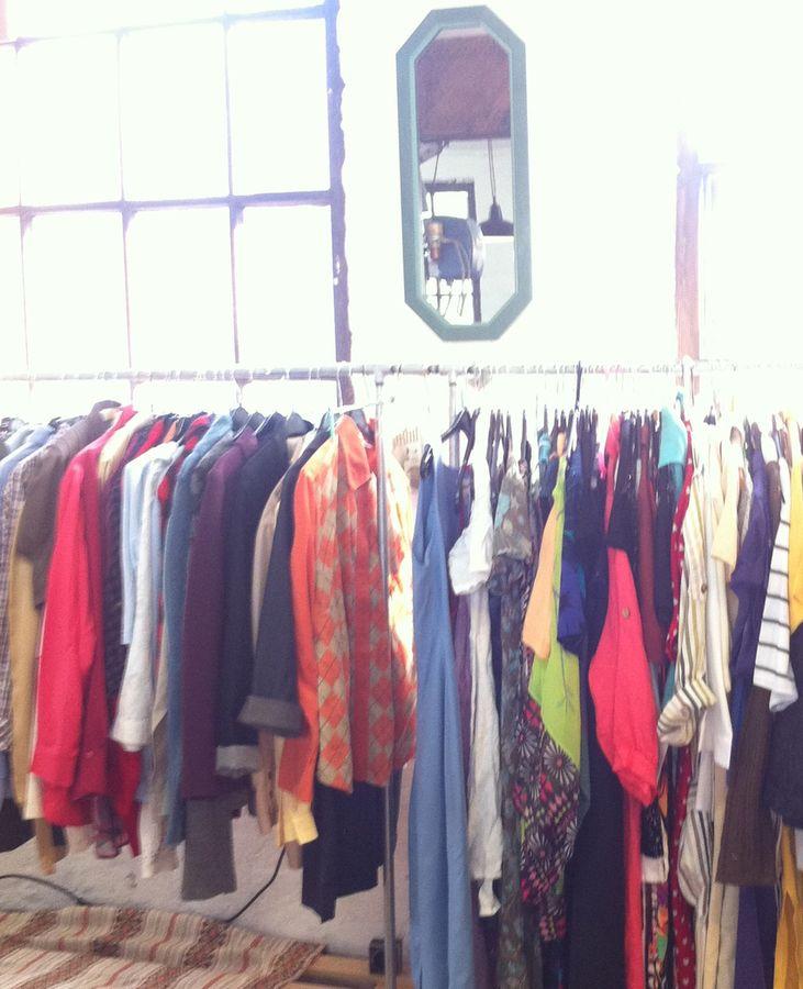 Große Auswahl bei den Kleidungsstücken