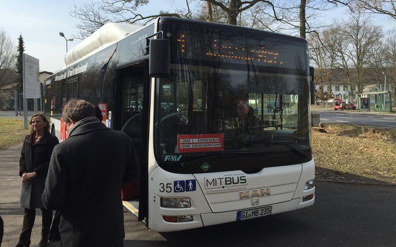 Expressbus der Linie 1
