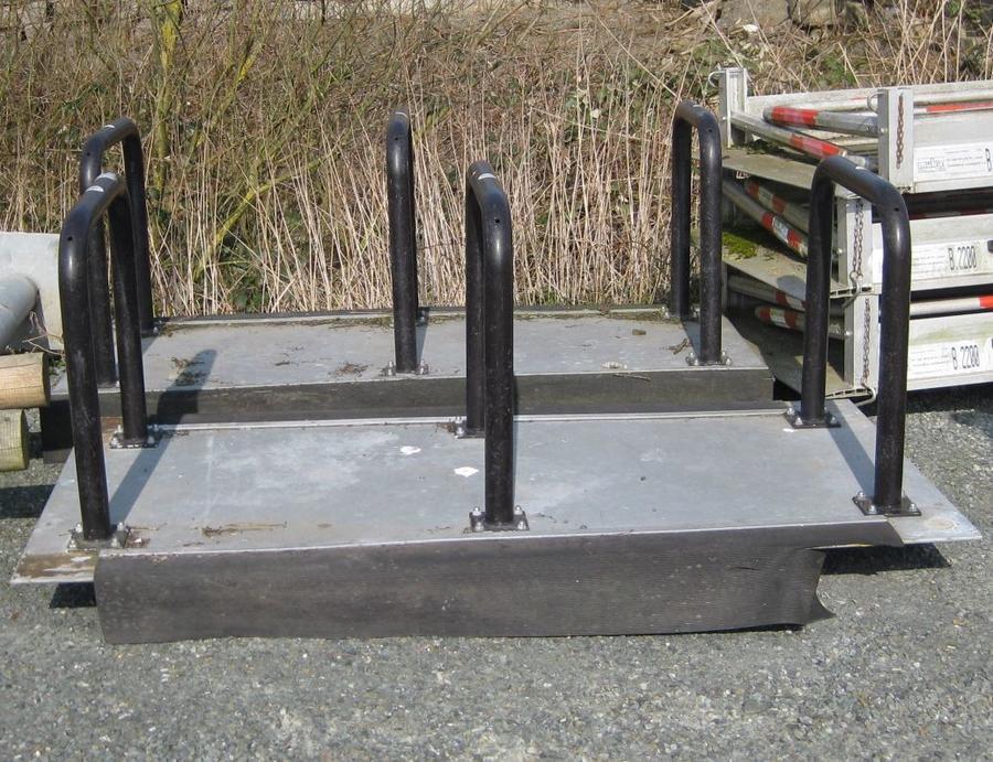 Mobile Test-Fahrradabstellanlagen