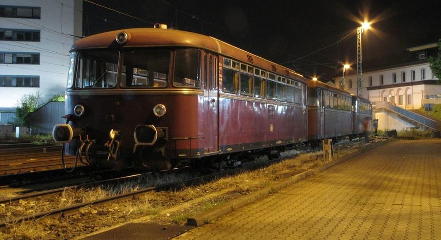 Historischer Schienenbus der Oberhessischen Eisenbahnfreunde e. V.