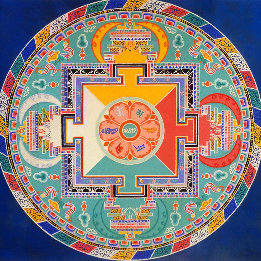Sandmandala Avalokiteshvara
