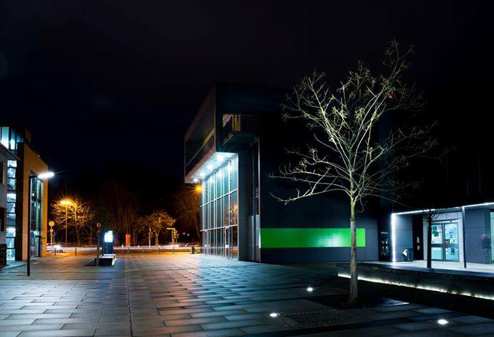 Campus THM bei Nacht