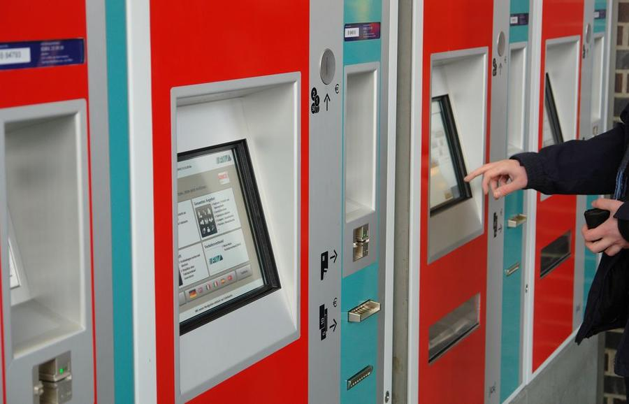 RMV-Fahrkartenautomaten