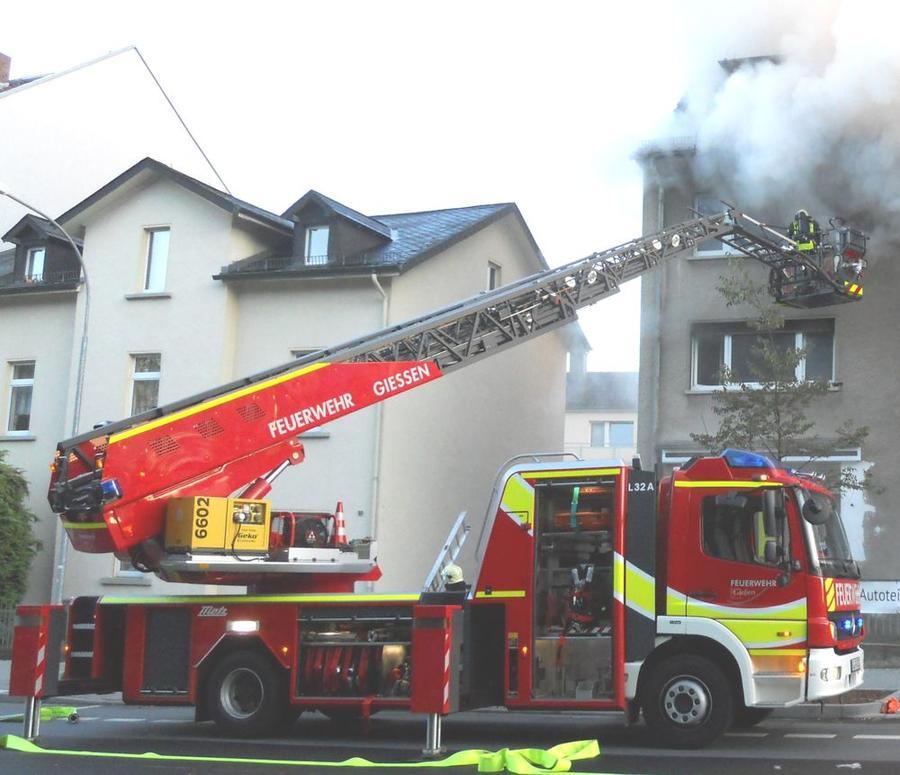 Die Feuerwehr der Stadt Gießen im Einsatz