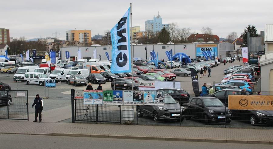 Blick auf die Automesse GINA im Jahr 2015