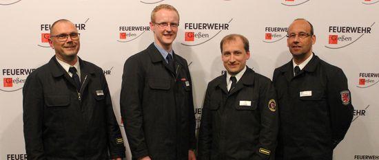 Jahreshauptversammlung der Freiwilligen Feuerwehr in Gießen
