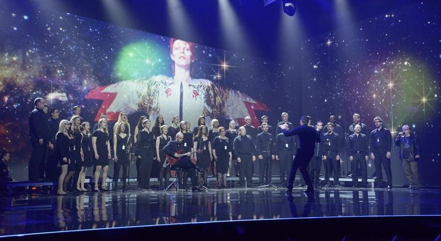 Chamber Choir of Europe bei einem Auftritt beim ECHO 2016