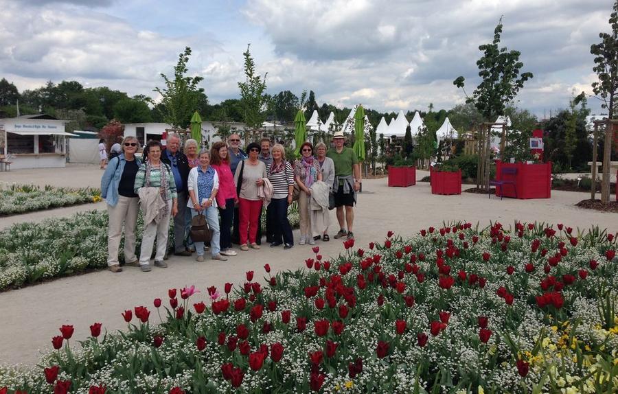 Besuch des Fördervereins Garten-Stadt der Landesgartenschau Bayreuth