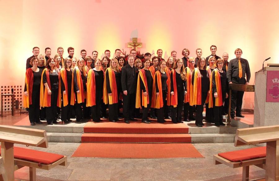 Chor Cantamus in der Wichernkirche Gießen