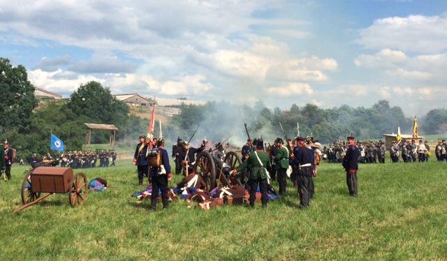 Schlacht von Königgrätz in Gießens Partnerstadt Hradec Kralove wird nachgespielt