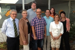 Vertreter der Stadt zu Besuch bei Berger care
