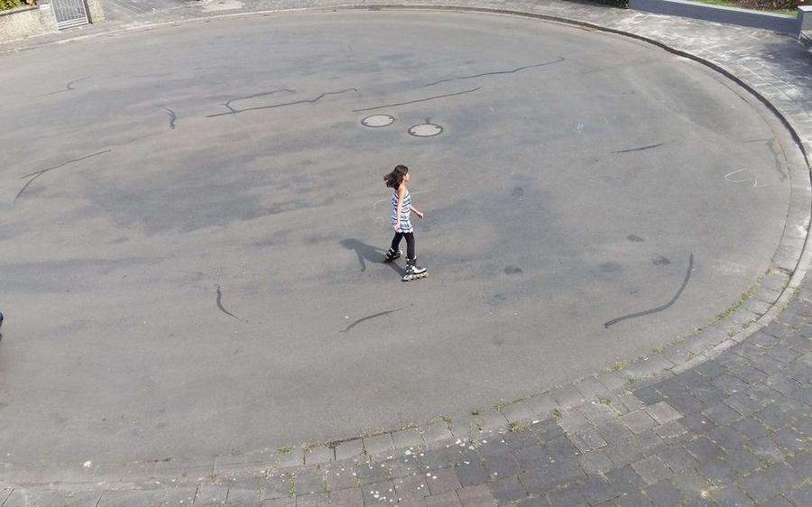 Mohammed Sowaid - Rollschulaufen in Gießen