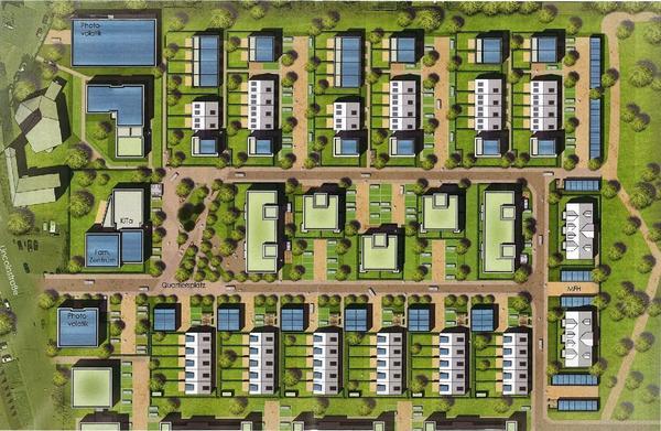 Neues Wohnquartier Motorpool-Gelände