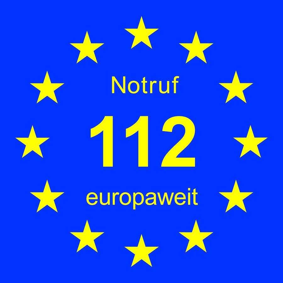 Euronotruf 112 - Symbolfoto