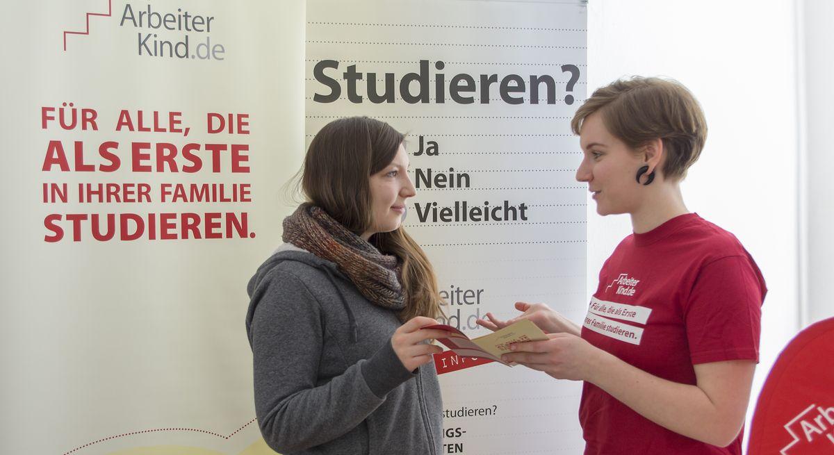 Beratung durch ArbeiterKind.de