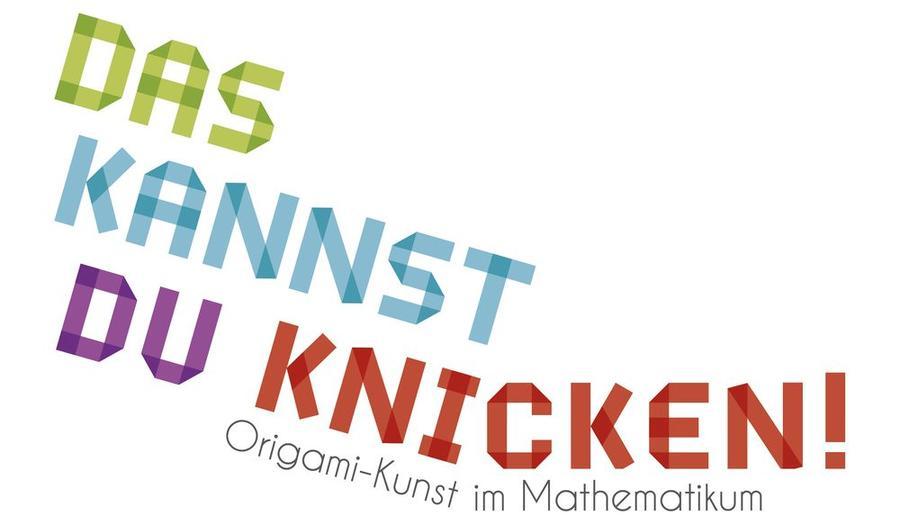 Logo Ausstellung Das kannst du knicken