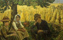 Ernst Eimer - Nach der Ernte
