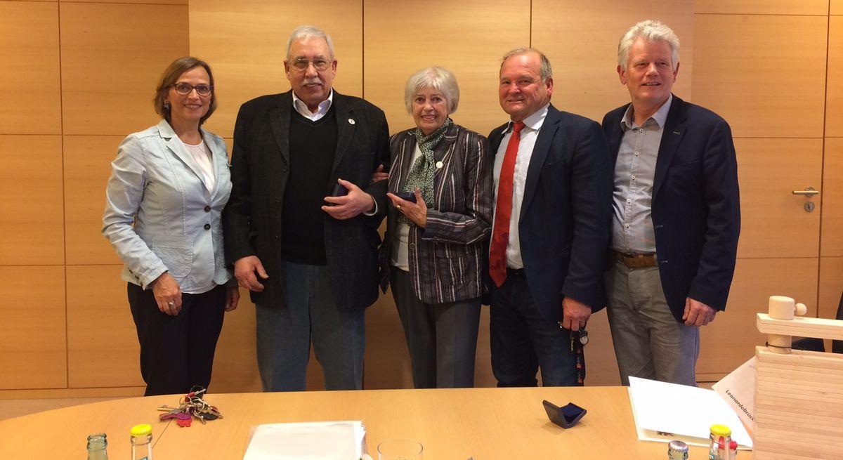 Verleihung der Silbernen Ehrenplakette der Stadt Gießen