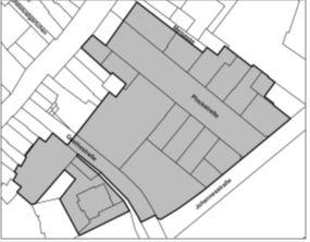 Innovationsbereich Theaterpark - Planausschnitt
