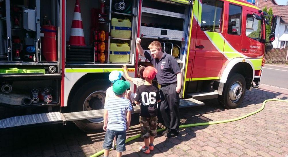 Ferienkarussell bei der Feuerwehr Gießen