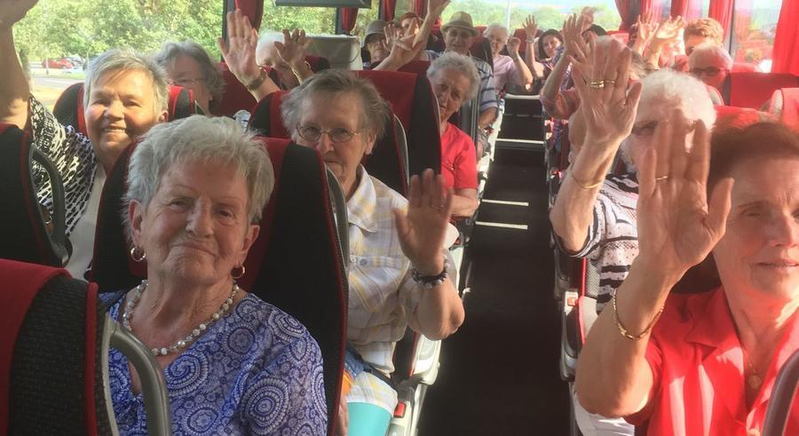 Seniorenfahrt im Juli 2017 zum Schiffenberg