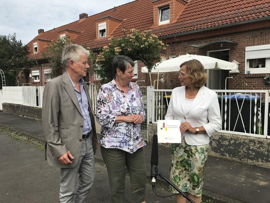 Bundesministerin Barbara Hendricks zu Besuch in Gießen
