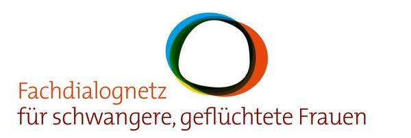 Logo Fachdialognetz für schwangere, geflüchtete Frauen