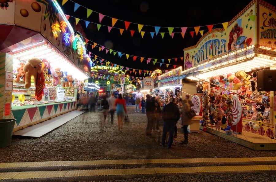 Die Gießener Herbstmesse, ein traditioneller Jahrmarkt.