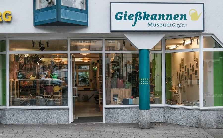 Gießkannenmuseum in der Sonnenstraße