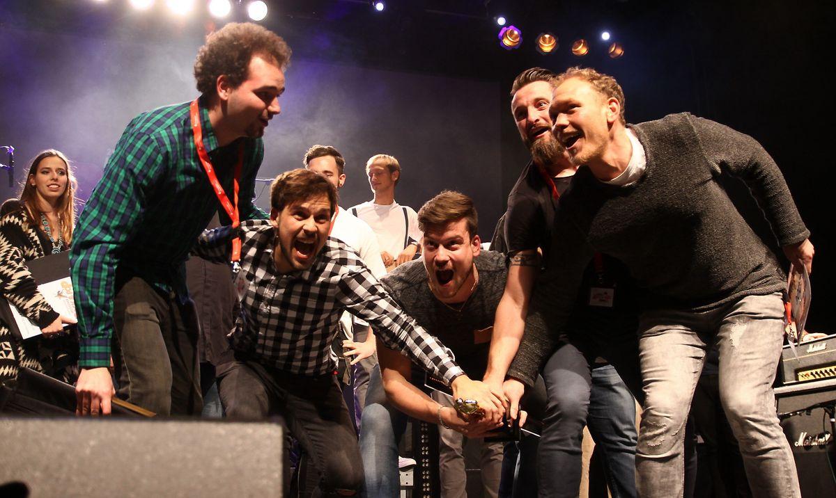 Lebendig beim Hessischen Rock- und Poppreis in Langen