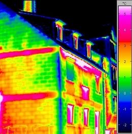 Thermografie Fassade