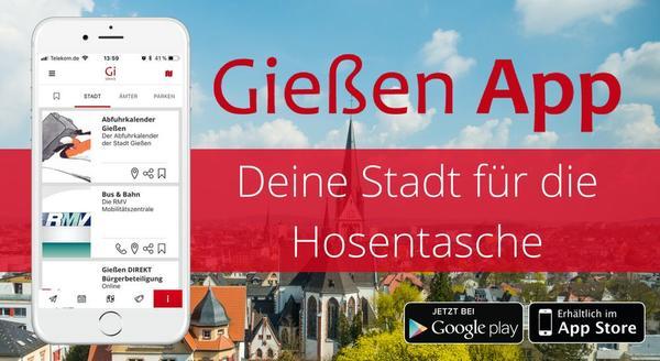 Werbebild Gießen App