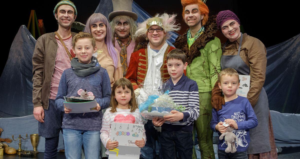 Gewinner bei Stadttheater-Stück Gurkes Glück