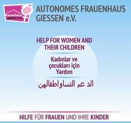 Autonomes Frauenhaus - Plakat