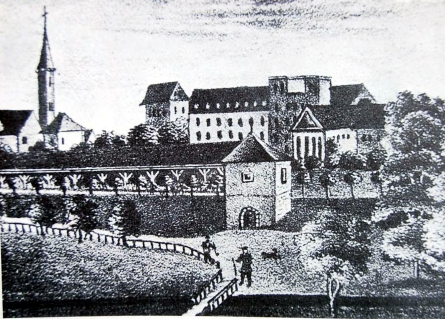 Alte Klinik Bonifatius ca 1845