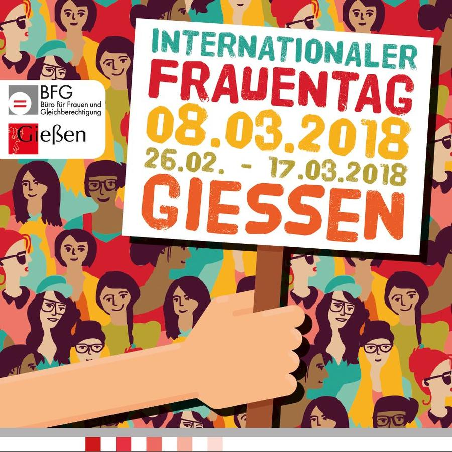 Internationaler Frauentag 2018 - Plakat