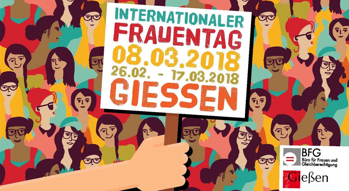 Internationaler Frauentag 2018 - Plakat