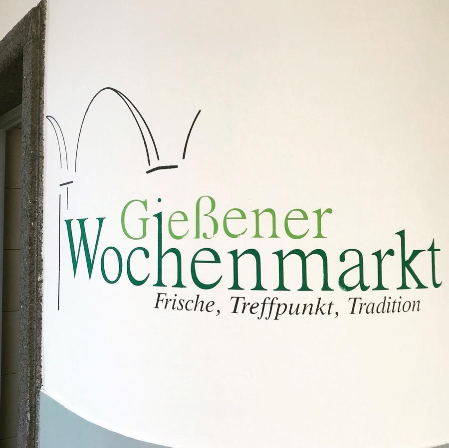 Wochenmarkt Wandbild