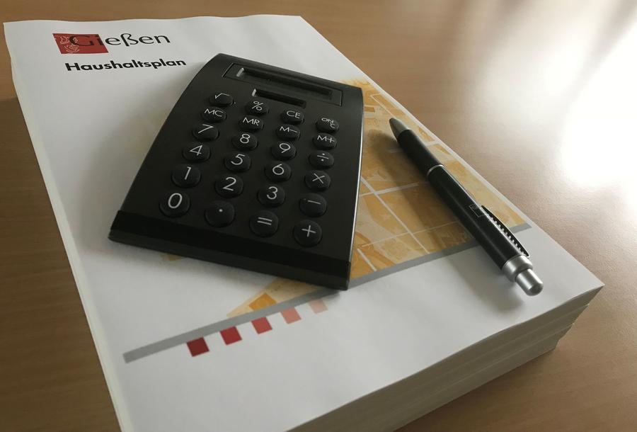 Haushaltsplan der Stadt Gießen
